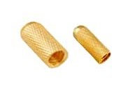 09.Brass Inserts Blind Cross Knurled