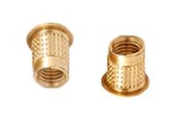11.Brass Conical Inserts with Knurling